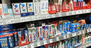 toothpastes with problematic substances