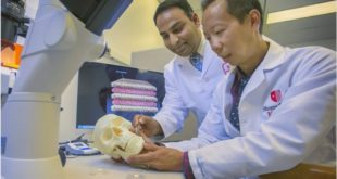 Scaffold Technology Improves Craniofacial Bone Regeneration