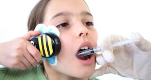 buzzy bee in dental injection