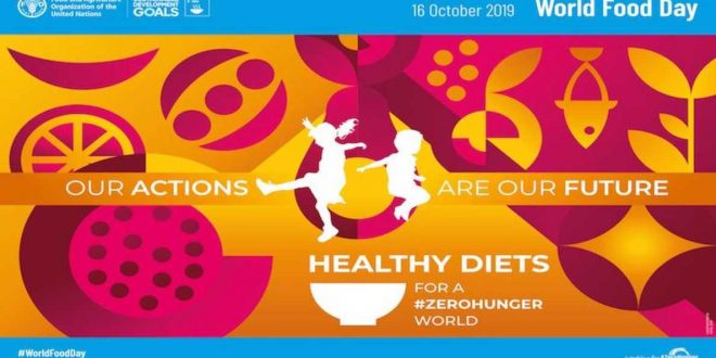 World Food Day highlights importance of healthy diet